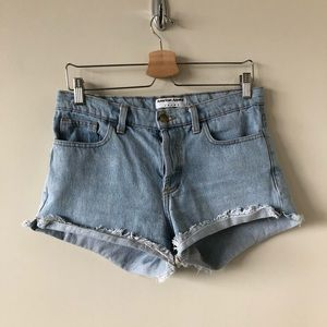 American Apparel Vintage High Rise Shorts